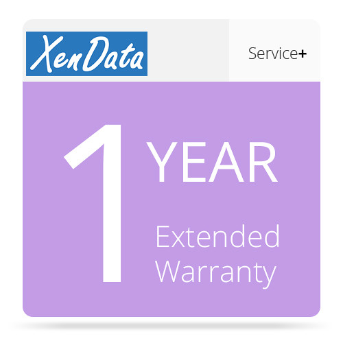 XenData 1-Year Extended Warranty for SXL-2-DT System