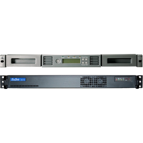 XenData SXL-8 Archive System with SX-10 Archive Appliance and One Internal LTO-6 Drive