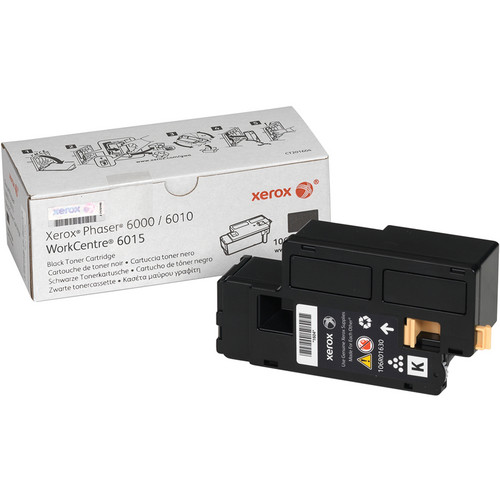 Xerox Toner Cartridge for Phaser 6010 and WorkCentre 6015 (Black)