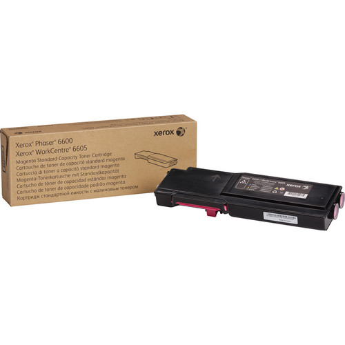 Xerox Standard Capacity Magenta Toner Cartridge for Phaser 6600 and WorkCentre 6605