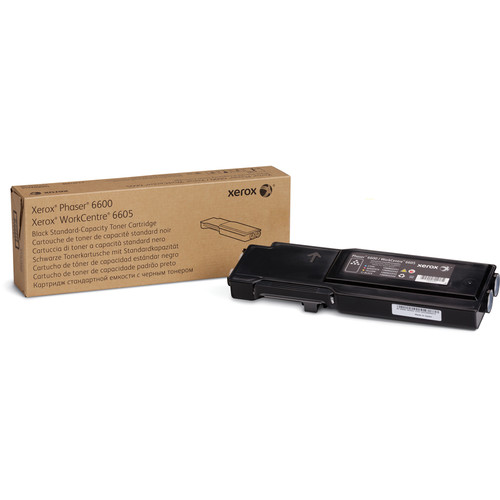 Xerox Standard Capacity Black Toner Cartridge for Phaser 6600 and WorkCentre 6605
