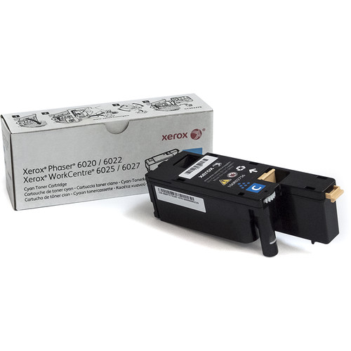 Xerox Cyan Toner Cartridge for Phaser 6022 & Workcentre 6027 Printers