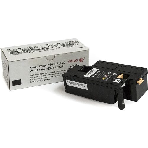 Xerox Black Toner Cartridge for Phaser 6022 & Workcentre 6027 Printers