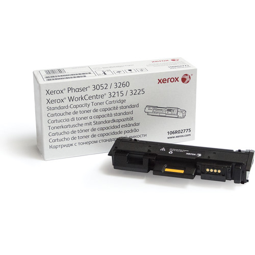 Xerox Black Standard Capacity Toner Cartridge for Phaser 3052/3260 & WorkCentre 3215/3225