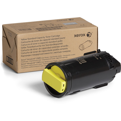Xerox 106R03898 Standard Capacity Yellow Toner Cartridge