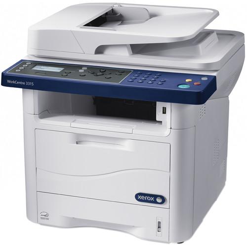 Xerox WorkCentre 3315 All-in-One Monochrome Laser Printer