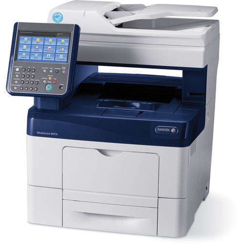 Xerox WorkCentre 6655i All-in-One Color Laser Printer