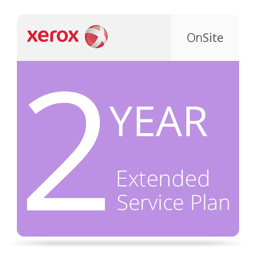 Xerox 2-Year Extended On-Site Service Plan for Phaser 6510
