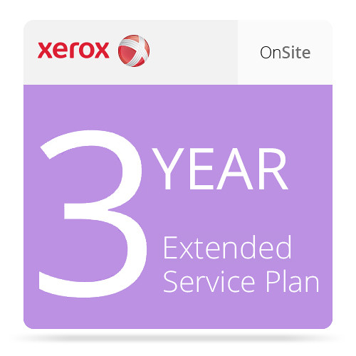 Xerox 3-Year Extended On-Site Service Plan for Phaser 6510