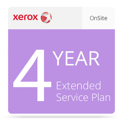 Xerox 4-Year Extended On-Site Service Plan for Phaser 6510