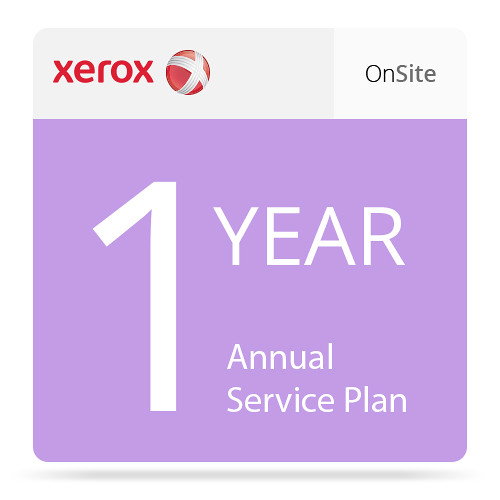 Xerox One-Year Annual On-Site Service Plan for Phaser 6510