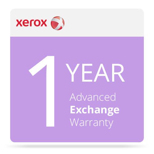 Xerox 1-Year Advanced Exchange Warranty for DocuMate 3125 Document Scanner