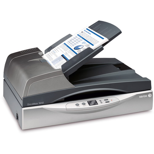 Xerox DocuMate 3640 Duplex Color Scanner