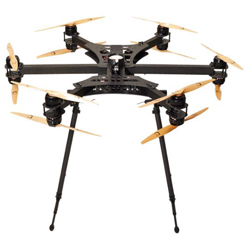 xFold rigs Cinema X12 U7 Drone with 3-Axis Gimbal for DSLR/Cinema Cameras (RTF)