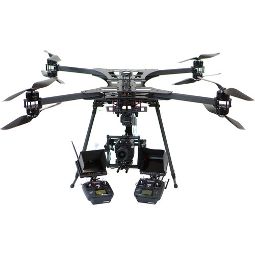 xFold rigs Dragon X8 U11 Drone with 3-Axis Gimbal for DSLR/Cinema Cameras (RTF)