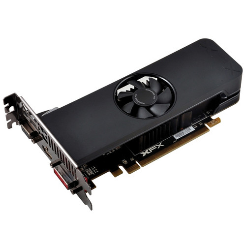 XFX Force Radeon R7 250 Graphics Card with Ghost 2.0 Thermal Solution (Low Profile)