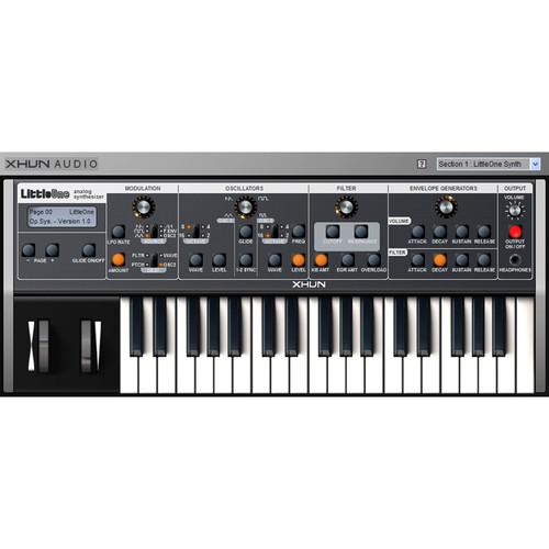 XHUN Audio LittleOne - Analog Modeling Virtual Synthesizer (Download)