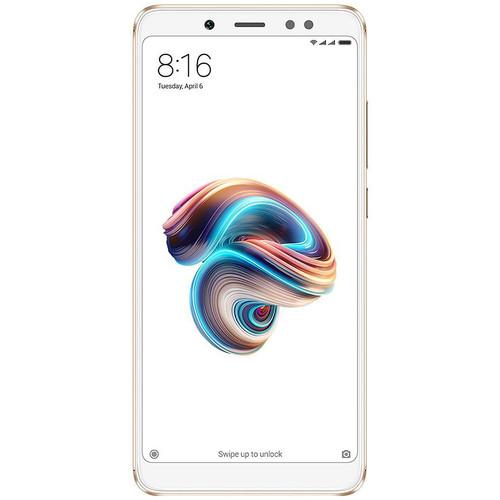 Xiaomi Redmi Note 5 Dual-SIM 32GB Smartphone (Unlocked, Gold)