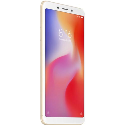 Xiaomi Redmi 6 Dual-SIM 32GB Smartphone (Unlocked, Gold)