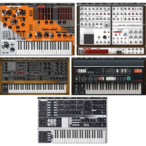 XILS-LAB Synthesizer Bundle XILS 4/Synx/Oxium/Polykab II