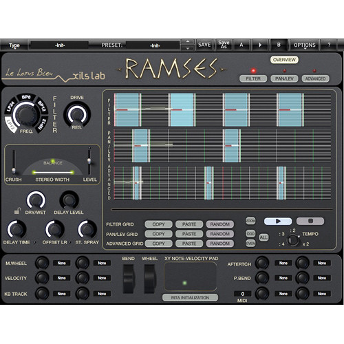 XILS-LAB R.A.M.S.E.S. - Rhythm and Motion Stereo Engine System Plug-in