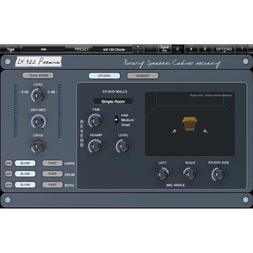XILS-LAB LX122 Premium Rotary Speaker Emulation Plug-In (Download)
