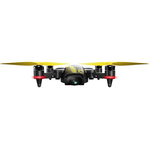 Xiro XPLORER Mini Drone with Pebble Case and Extra Battery (Black)