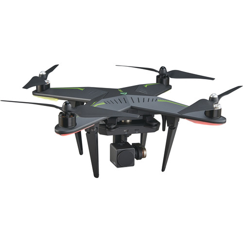 Xiro Xplorer V Model Quadcopter with HD Camera and 3-Axis Gimbal (Spare Battery Included)