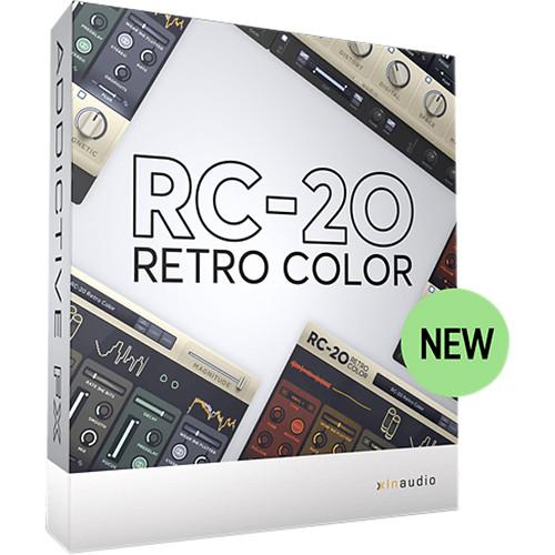 XLN Audio RC-20 Retro Color - Vintage Recording Equipment Emulation Plug-In (Download)