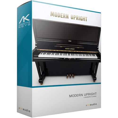 XLN Audio Addictive Keys: Modern Upright - Virtual Upright Piano (Download)