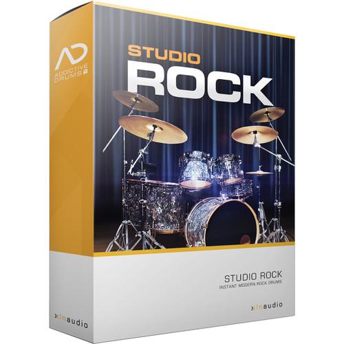 XLN Audio Studio Rock AD2 ADPAK - Virtual Drum Kit (Download)