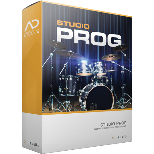 XLN Audio Studio Prog AD2 ADPAK - Virtual Drum Kit (Download)