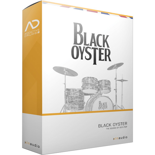 XLN Audio Black Oyster AD2 ADPAK - Virtual Drum Kit (Download)
