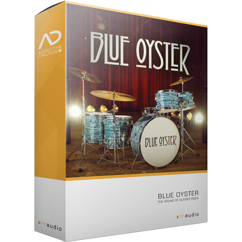 XLN Audio Blue Oyster AD2 ADPAK - Virtual Drum Kit (Download)