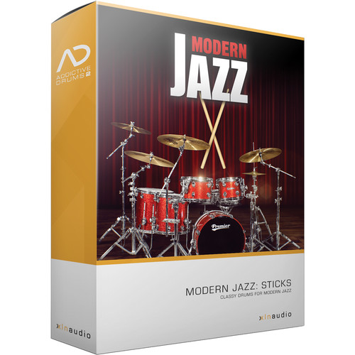 XLN Audio Modern Jazz Sticks AD2 ADPAK - Virtual Drum Kit (Download)