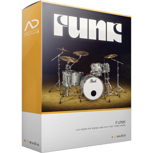 XLN Audio Funk AD2 ADPAK - Virtual Drum Kit (Download)