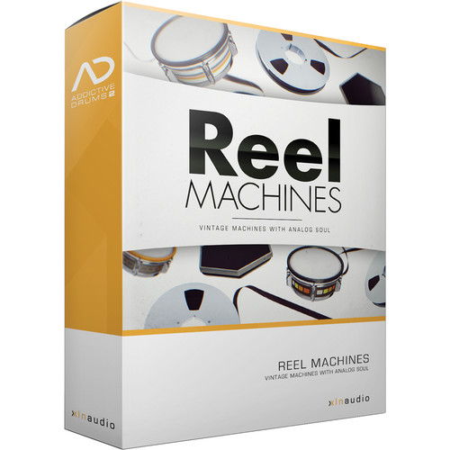 XLN Audio Reel Machines AD2 ADPAK - Virtual Drum Kit (Download)