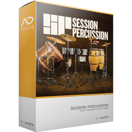 XLN Audio Session Percussion AD2 ADPAK - Virtual Drum Kit (Download)