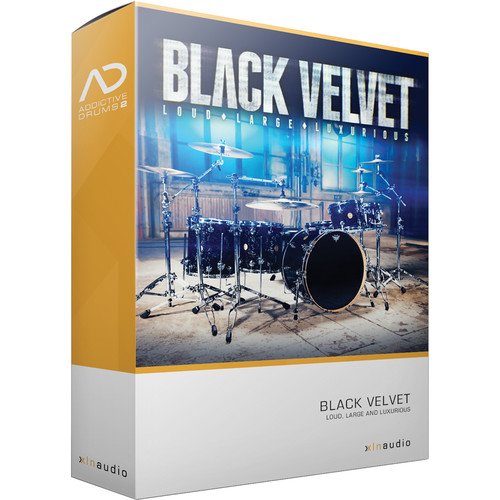 XLN Audio Black Velvet AD2 ADPAK - Virtual Drum Kit (Download)