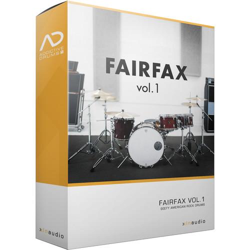 XLN Audio Fairfax Vol. 1 AD2 ADPAK - Virtual Drum Kit (Download)