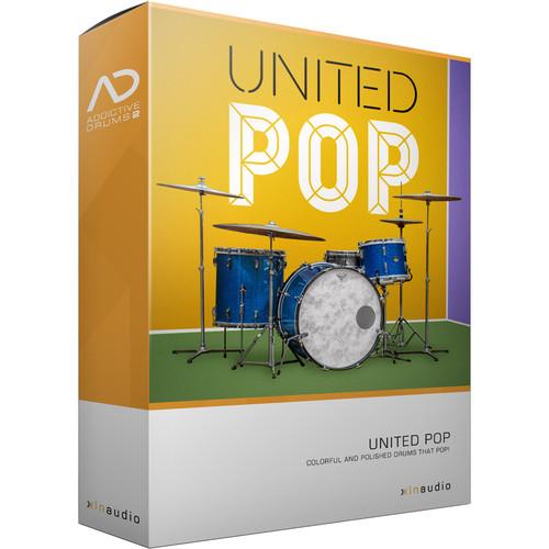 XLN Audio United Pop AD2 ADPAK - Virtual Drum Kit (Download)