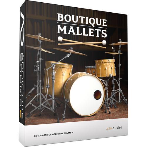 XLN Audio Boutique Mallets - ADpak for Addictive Drums 2 Virtual Instrument (Download)