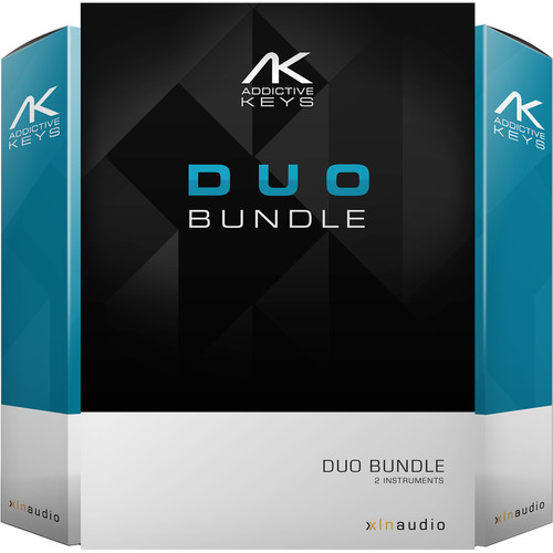 XLN Audio Addictive Keys: Duo Bundle - Virtual Keyboard Instruments (Download)