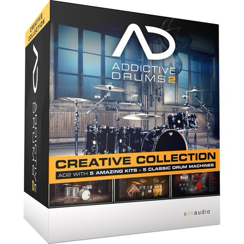 XLN Audio Addictive Drums 2: Creative Collection (Download)