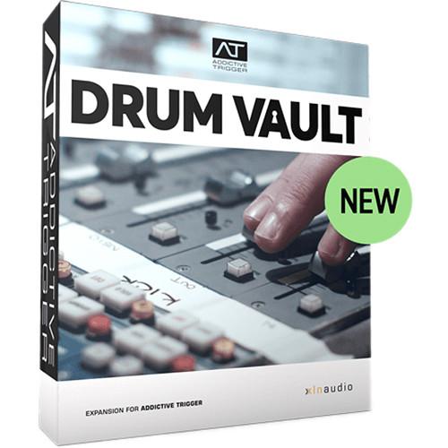 XLN Audio Drum Vault TrigPak - Expansion Pack for Addictive Trigger Plug-In (Download)