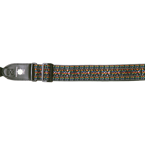 """XP PhotoGear Woven Gear Designer Strap with Leather Ends for DSLR Camera with Lens (Rainbow, 56"""" Long, 2"""" Wide)"""
