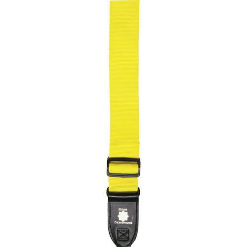 XP PhotoGear Izzuz Nylon & Leather Designer Strap (Yellow)