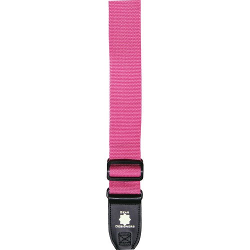 XP PhotoGear Izzuz Nylon & Leather Designer Strap (Pink)