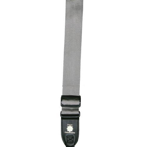 XP PhotoGear Izzuz Nylon & Leather Designer Strap (Silver)