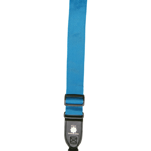 XP PhotoGear Izzuz Nylon & Leather Designer Strap (Pacifier Blue)